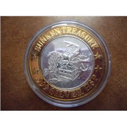 PRINCESS CRUISES CASINO $10 SILVER TOKEN (UNC)