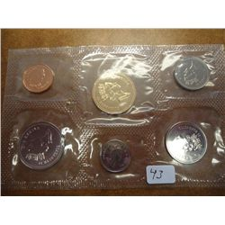 1992 CANADA PROOF LIKE SET (NO ENVELOPE)