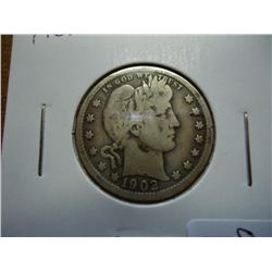 1902 BARBER QUARTER (VERY GOOD)