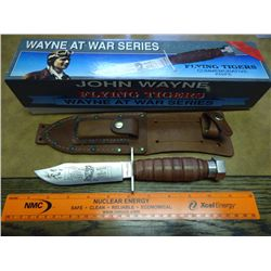 "9 1/2"" CAMILLUS WAYNE AT WAR COMMEMORATIVE KNIFE"