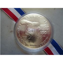 1983-P US OLYMPIC UNC SILVER DOLLAR