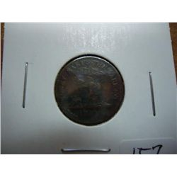 "1863 CIVIL WAR TOKEN ""MONEY MAKES THE MARE GO"""
