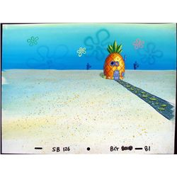 Spongebob's House View Original Production Background