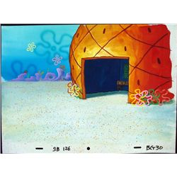 Spongebob Original Production Background No Front Door