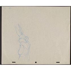 Bugs Bunny Original Animation Drawing Looney Tunes Robe