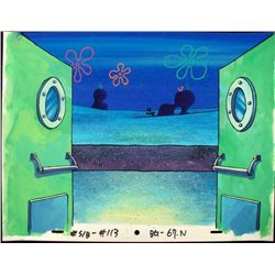 Spongebob Original Production Background Back Doors