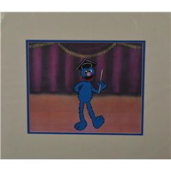 Grover Sesame Street Original Production Cel Animation
