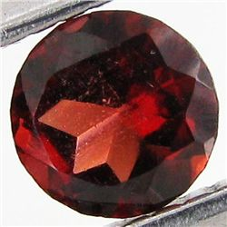 0.75ct Wine Red Garnet Round (GEM-40941)