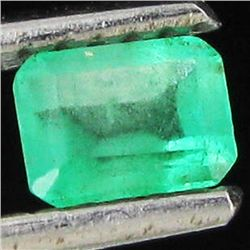 .35ct Top Clear Columbian Emerald Rectangle (GEM-32558)