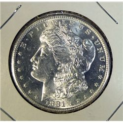 1881S Morgan $ MS63