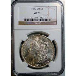 1879-O MORGAN DOLLAR NGC MS-62