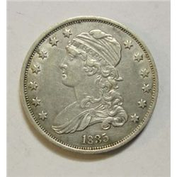 1835 Bust quarter  XF  all original PQ coin