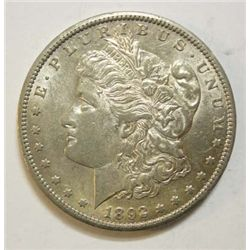 1892CC Morgan $  AU58  60 GS bid = $1150