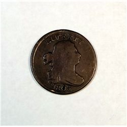 1803 half cent  F/VF  UNATTRIBUTED