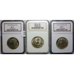 1936  PDS set Arkansas  half $ NGC65