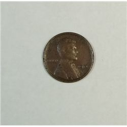 1914D Lincoln penny  VF