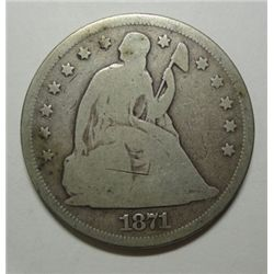 1871 Seated  $  VG