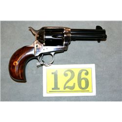 UBERTI SA CATTLEMAN, HARTFORD CONN MODEL .45 COLT; CASE COLOR RECEIVER, FRAME AND HAMMER  SMOOTH WAL