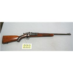 US SPRINGFIELD ARMORY 1898, JORGENSEN RIFLE CHECKERED 1 PC WOOD STOCK AND FOREARM, BOLT ACTION, SOME