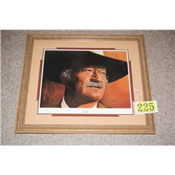 THE DUKE  LITHO BY DON MARCO CUSTOM FRAMED  LTD ED # 268/500  EST $250-$325