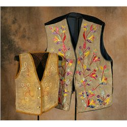 Santee Sioux Vests, 19th century