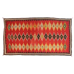 Navajo Chinle Weaving, 115 x 63, 1920s-1930s