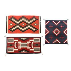 Three Navajo Weavings
