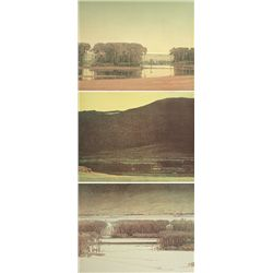 Russell Chatham, Yellowstone River Suite stone lithographs
