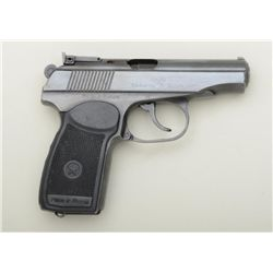 Russian Makarov Model IJ-70 DA semi-auto  pistol, 9 x 18mm cal., imported by Big Bear  Arms, Dallas,
