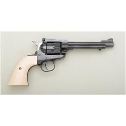 "Ruger New Model Single-Six revolver, .22  caliber with extra .22 Mag. cylinder, 5-1/2""  barrel, blac"