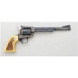 "Colt New Frontier Buntline SAA revolver,  .22LR cal., with extra .22 Mag. cylinder,  7-1/2"" barrel,"