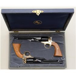 Cased pair of Colt Civil War Centennial  Commemoratives in the style of the Colt Model  1860 Army re
