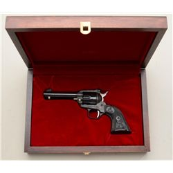 "Wood presentation cased Colt John Wayne ""The  Duke"" Commemorative New Frontier Single  Action revolv"