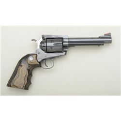 "Ruger New Model Super Blackhawk revolver, .44  Mag. cal., 5-1/2"" barrel, black finish,  custom Ruger"