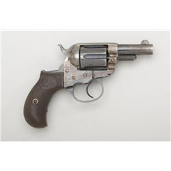 "Colt Model 1877 DA ""Lightning"" revolver, .38  cal., ejectorless 2-1/2"" barrel, blue and  case harden"