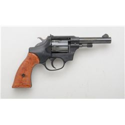 "Hi-Standard Sentinel Deluxe Model R-106  single action revolver, .22 cal., 4"" barrel,  black finish,"