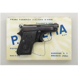 "Beretta Model 950B pistol, 6.35mm cal., no  magazine, 2-1/2"" barrel, black finish,  checkered black"