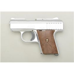 "Raven Arms Model P-25 pocket semi-auto  pistol, 2-1/2"" barrel, .25 cal., 2-1/2""  barrel, nickel fini"