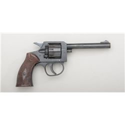 "German-made modern DA revolver for Madison  Import Corp., .22LR cal., 4"" barrel, blue  finish, check"