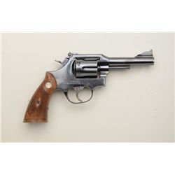 "Miroku DA revolver, .38 Special cal., 4""  barrel, blue finish, checkered wood medallion  grips, #304"