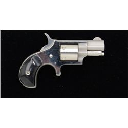 "North American Arms Corp. mini spur trigger  revolver, .22 short cal., 1-1/8"" barrel,  stainless ste"