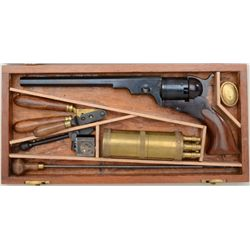 "Modern Italian-made copy of the famous Colt  Texas Paterson percussion revolver, .36 cal.,  9"" octag"