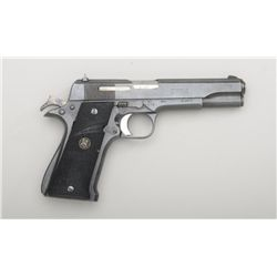 "Star Modelo Super semi-auto pistol,  import-marked, 9mm Largo cal., 5"" barrel,  black finish, no mag"