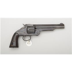 Smith & Wesson Model 3 Russian Second Model  (Old Model Russian) top break revolver, .44  cal., barr
