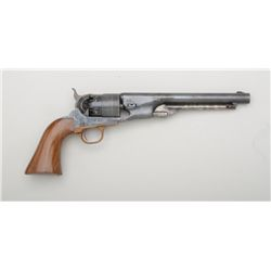 "Navy Arms modern copy of a Colt Model 1860  Army percussion revolver, .44 cal., 8"" round  barrel, bl"