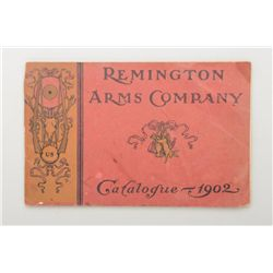 Early original Remington Arms Company Catalog  for 1902 in overall good condition with some  edge fr