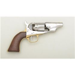"Colt Model 1862 Police percussion revolver,  .36 cal., barrel reduced to 2-1/2"", wood  grips, #44398"