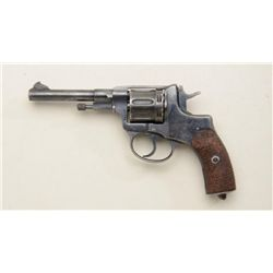 Russian Nagant double-action military issue  revolver, 7.62 caliber, Tula Arsenal marked,  dated 193