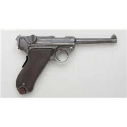 "Model 1900 DWM Commercial Luger semi-auto  pistol, .30 cal., 5"" barrel, blue finish,  B.U.G. proofs,"