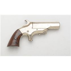 "Southerner single shot derringer, .41 cal.,  2-1/2"" octagon barrel, nickel finish, wood  grip, #9363"